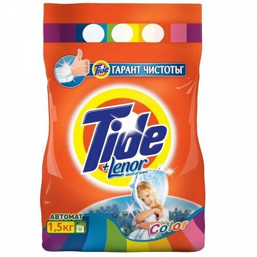 СМС TIDE Автомат Color Lenor Tounch of Scent 1,5кг